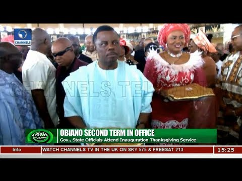 Anambra State Officials Attend Inauguration Thanksgiving Service |News Across Nigeria|