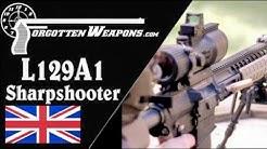 British L129A1 Sharpshooter Rifle