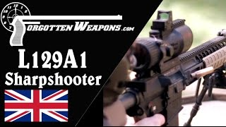 British L129A1 Sharpshooter Rifle