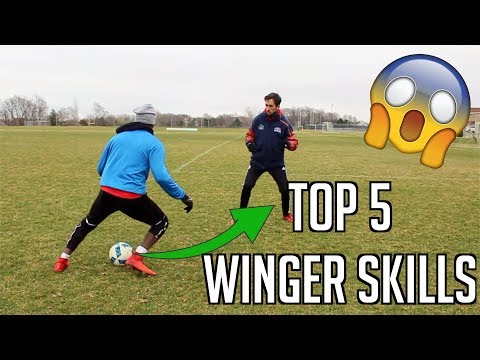 HOW TO PLAY WINGER IN FOOTBALL - TOP 5 MOVES FOR WINGERS