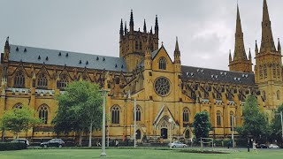 1:10pm Mass at St Mary's Cathedral, Sydney - 12th May 2021