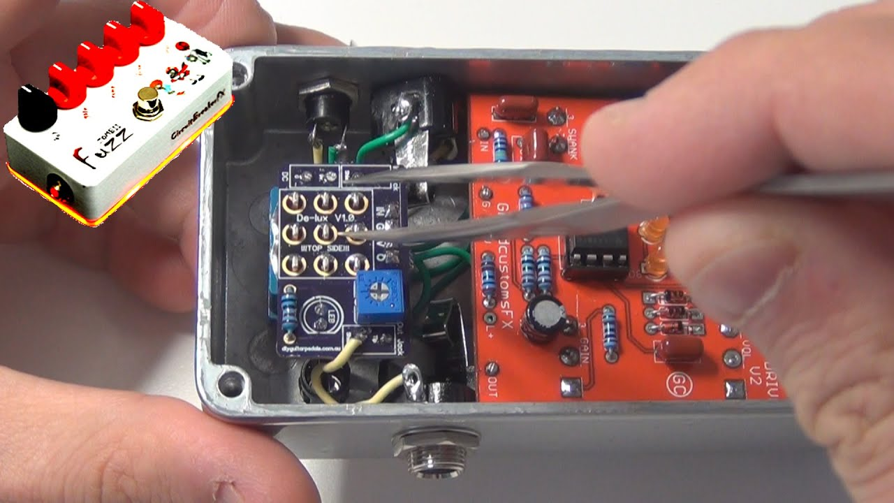 Guitar Pedal Fault Diagnosing Example No Output Youtube Univibe Wiring Diagram