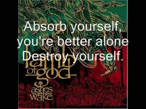 Lamb of God-Laid to Rest with Lyrics