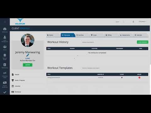 VALORUM™ Tutorial     Client Management