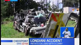 5 killed in head-on collision accident in Londiani