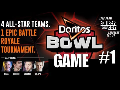 Team Shroud/Ninja/Lupo/Courage HEAT #1 ▪  ▎$250,000 BO4 Doritos Bowl Tournament ▎