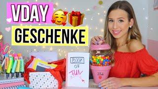 DIY VALENTINSTAG GESCHENKE 🎁🆘 Last Minute Valentinstag Geschenk selber machen  2019