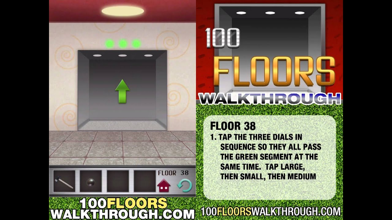 100 Floors Floor 38 Walkthrough Thefloors Co