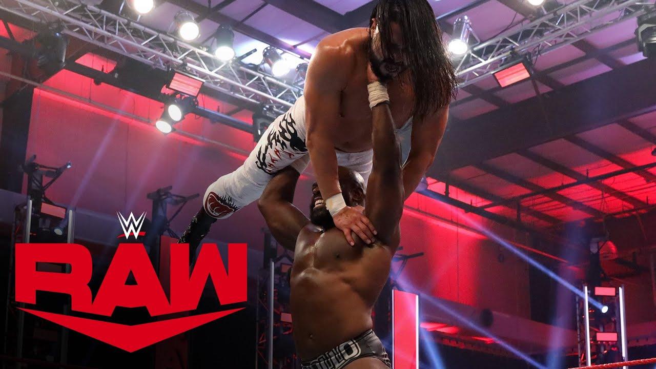 Apollo Crews vs. Andrade – United States Championship Match: Raw, May 25, 2020