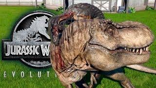 Индораптор Профиль Гибрида на русском Jurassic World Evolution