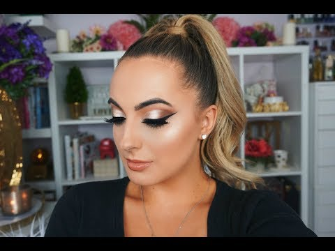 Spring Peachy Glam Makeup Tutorial | Chit Chat GRWM