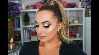 Bronzy makeup