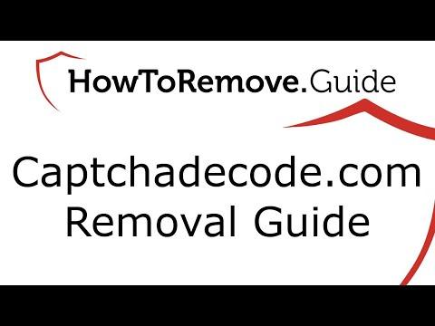 Captchadecode.com Virus Removal