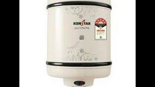 Kenstar 25 litre hot spring geyser Unboxing