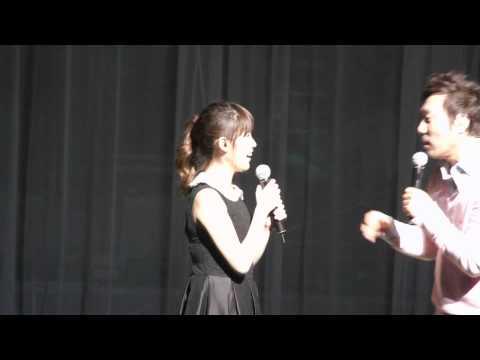 110423 IU (아이유) duets with Lee Moon Sae (fancam)