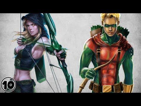 Top 10 Alternate Versions Of Green Arrow