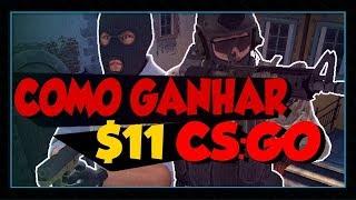 [CS:GO] COMO GANHAR $11 DÓLARES PARA ABRIR CAIXAS !