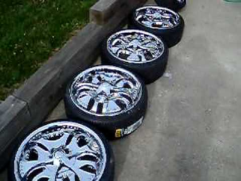 19 inch rims and spinners for sale youtube. Black Bedroom Furniture Sets. Home Design Ideas