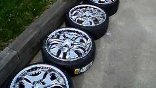 19 Inch Rims and Spinners for sale