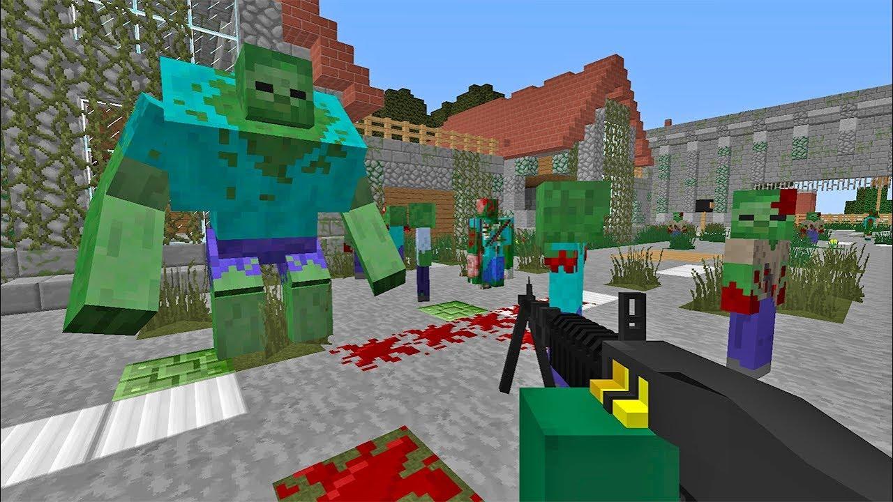 майнкрафт игры зомби акапалипсис #6