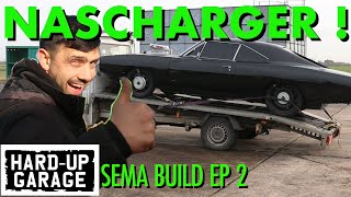FAST AND FURIOUS SEMA 2019 NASCharger Hard Up Garage EP2