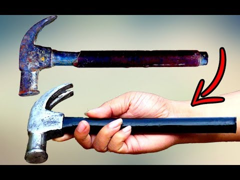 turning-old-rusty-hammer-into-mjolnir-tool-restoration---dallmyd-kh