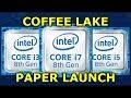 Tech Talk - Forza 7 Benchmarks & Coffee Lake Paper Launch
