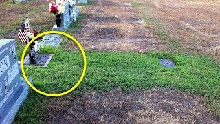 Mom Didn't Understand Why Her Son's Grave Was Green – She Couldn't Stop Crying When She Knew Truth