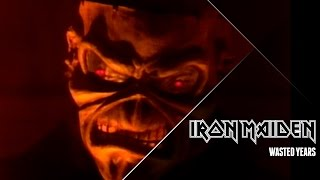 Iron Maiden   Wasted Years (official Video)