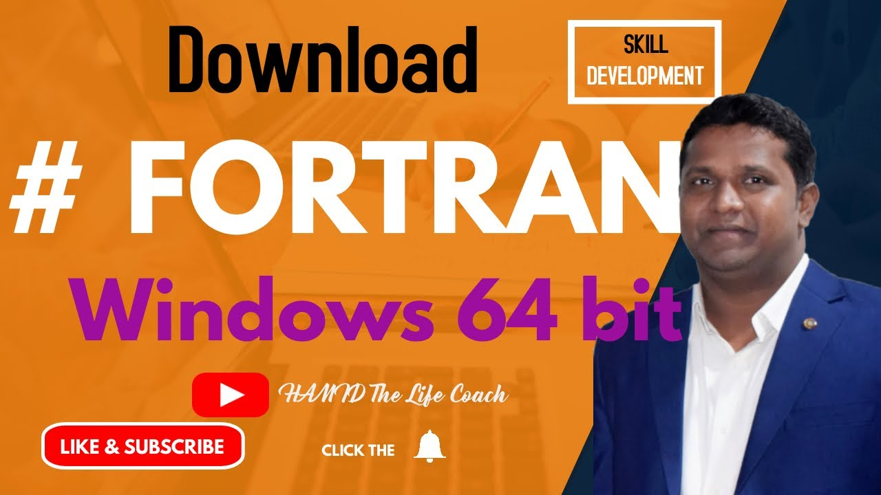 How can I Download FORTRAN for Windows 64 bit