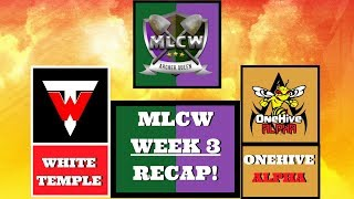 White Temple Vs OneHive Alpha Week 3 | 47 minion th9 3 star! | MLCW AQL |Clash of Clans