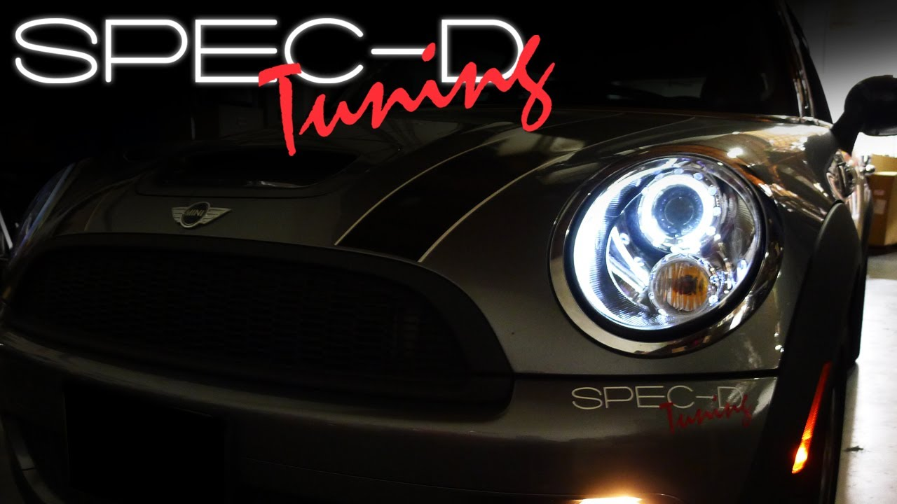 Specdtuning Installation Video 2007 And Up Mini Cooper Projector S Main Wiring Harness Headlights Youtube