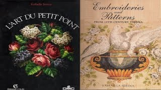 Raffaella-Serena-старинные схемы вышивки, обзор книги