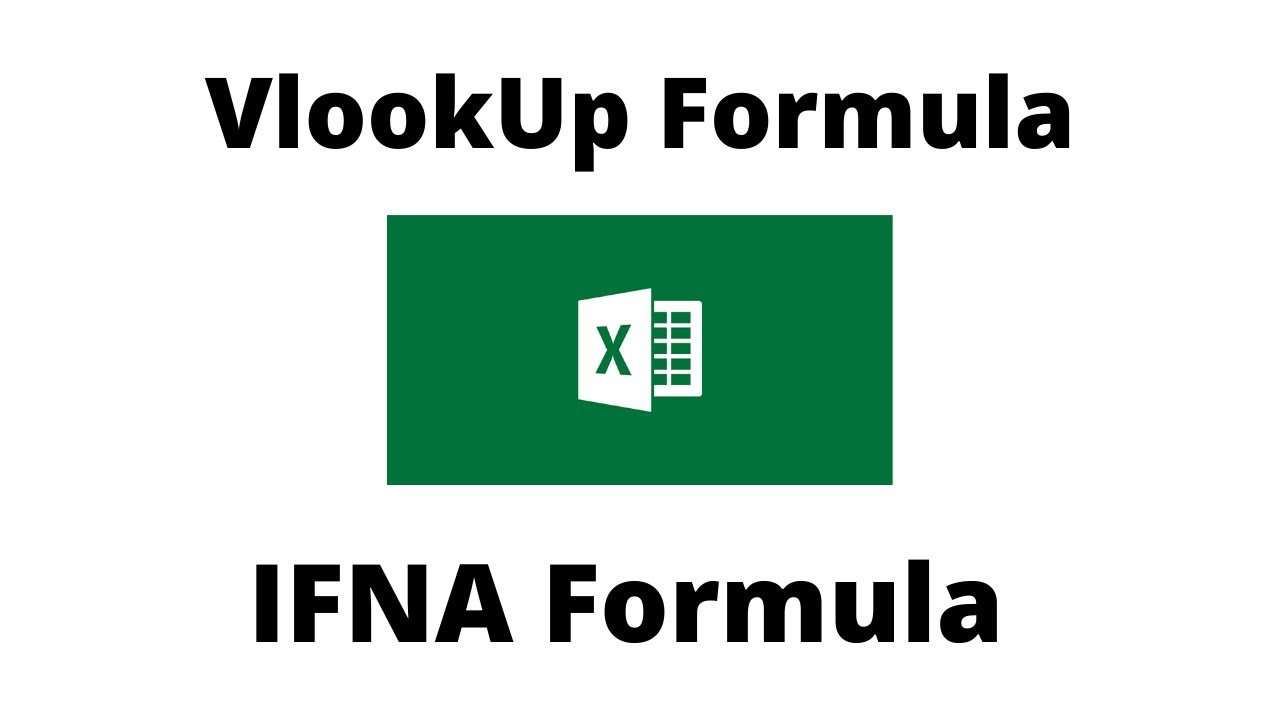 How to Use VLOOKUP Formula and IFNA Formula IN Excel