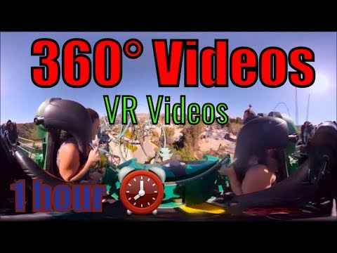 1 hour 360 Video Mix // Best of 360 VR Videos // 1 hour complications