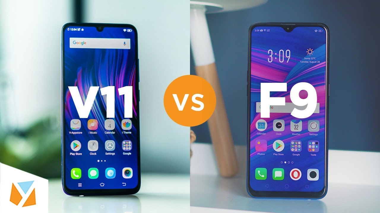 Vivo V11 Vs Oppo F9 Comparison Review Youtube