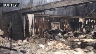 «Сайлент Хилл» наяву: лесные пожары превратили Теннесси в площадку для съёмок фильмов ужасов