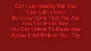 """""""Rush"""" By: Aly and Aj. WITH LYRICS"""