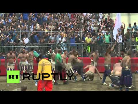 Italy: The most brutal football match in the world - bar none