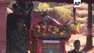 Soldiers from 23 nations gather in Nepal to train for peacekeeping missions