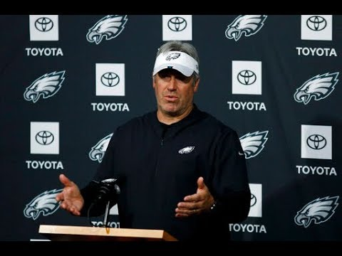 Doug Pederson on Chris Long, Philadelphia Eagles offense