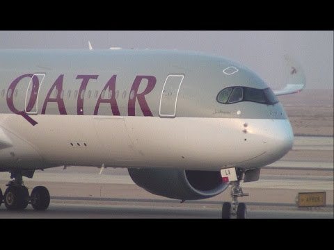 ✈ FIRST TO FLY A350 | Qatar Airways | A350-900 | Riyadh to Doha