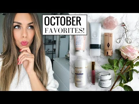OCTOBER FAVORITES! (New Makeup & Skincare Obsessions) | Annie Jaffrey