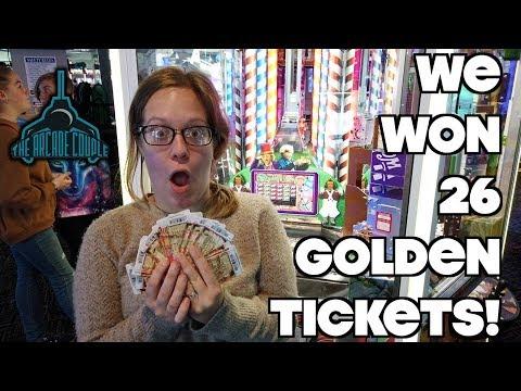We Found A 'Broken' Willy Wonka Coin Pusher & Won BIG!
