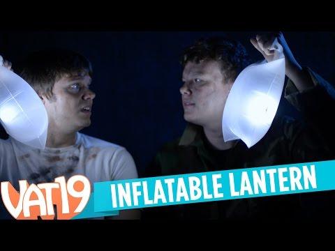 Inflatable Solar LED Lantern