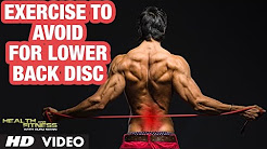 Back Pain/Disc Pain - Avoid these exercises | Complete info by Guru Mann