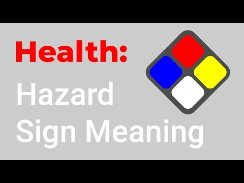 Hazard Sign Meaning