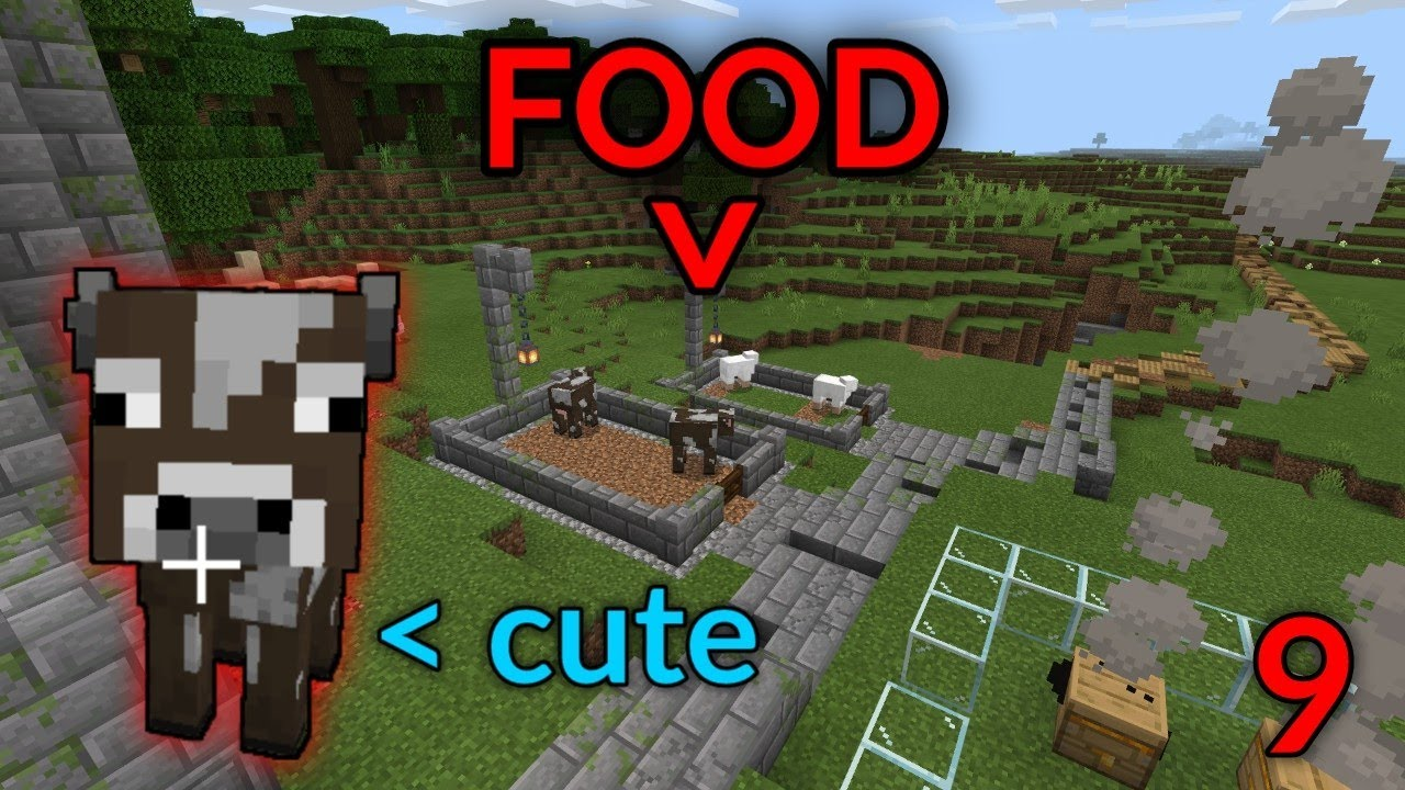Minecraft Bedrock Survival #9- Animal Farms (and 1.16)