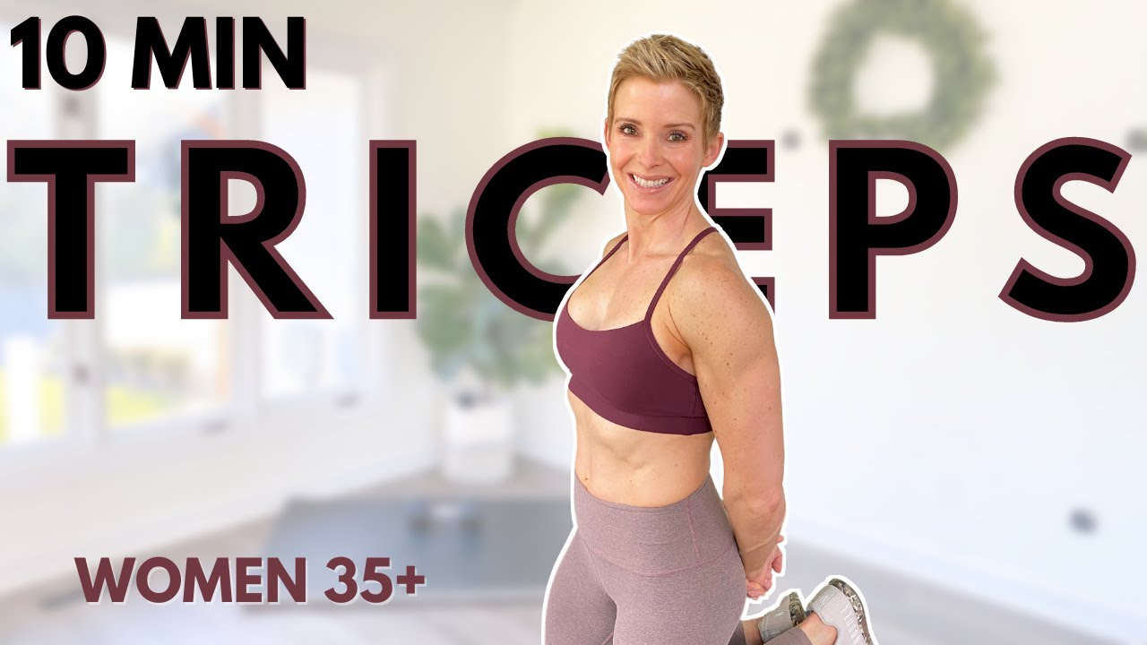 ARMS at home workout for women over 35 | TRICEPS