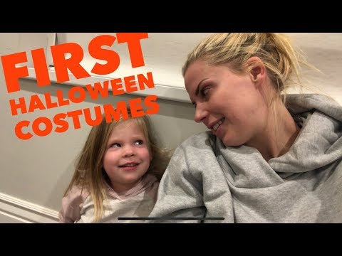 WHAT DO THE GIRLS THINK OF THEIR FIRST EVER HALLOWEEN COSTUMES